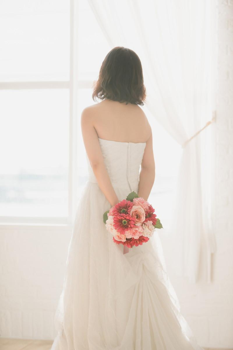 結婚式を控えた花嫁